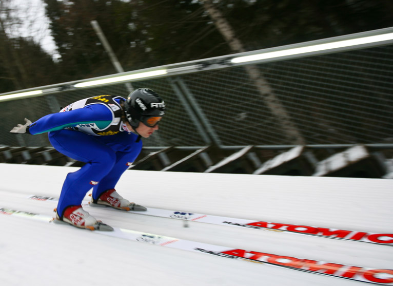 Florian Schabereiter at the 4 Hills Tournament